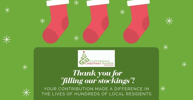 Thank you for your generosity! image